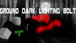 Roblox Script Showcase Episode#1064/Ground Dark Lightning Bolt