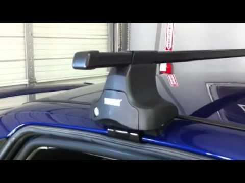 Ford Focus Outfitted With Thule Traverse Roof Rack By Rack Outfitters Youtube