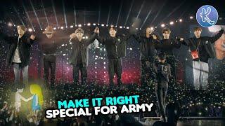 Bikin Army Terharu! 6 Fakta Lagu BTS Make it Right Lagu Spesial Buat ARMY