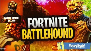 "LEGENDARY ""BATTLE HOUND"" SKIN GAMEPLAY 