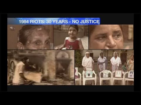 Story Unfolds - 1984 Anti-Sikh Riots (NewsX)