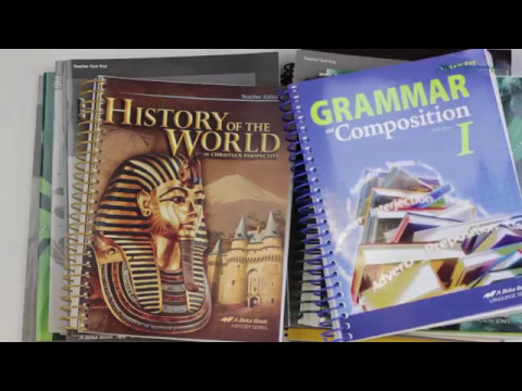 A Beka Book Grade 7 Homeschool Parent Full Grade Kit Youtube