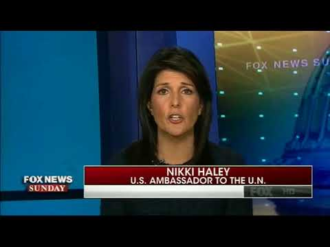 Good interview with Nikki Haley who does not want to be secretary of state