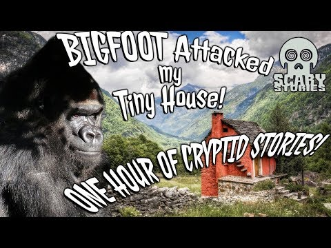 Bigfoot Attacked My Tiny House! 1 HOUR of Cryptids! Mp3