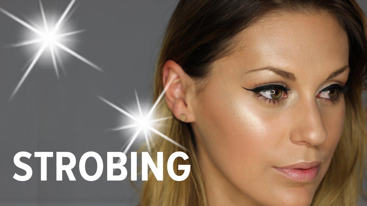 strobing tutorial deutsch highlighter schminken youtube