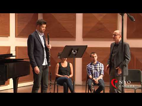 NYO Canada Masterclass Series - James Campbell