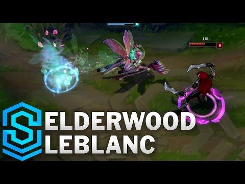 Elderwood LeBlanc Skin Spotlight - Assassin Update 2016 - League of Legends