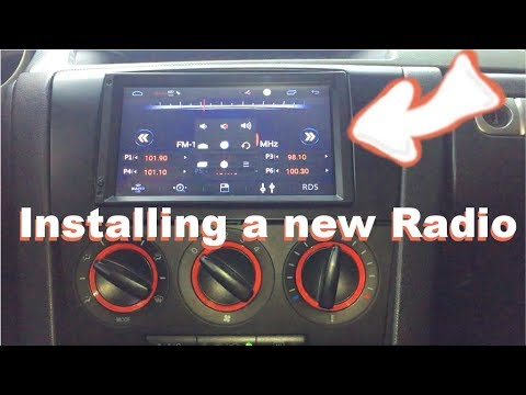 Installing an aftermarket radio in a Mazda 3