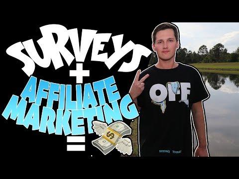 How To Make Money With Surveys [Affiliate Marketing]