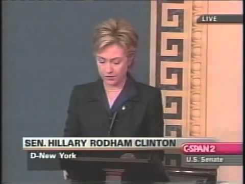 Hillary Clinton's Pro-Iraq War Speech