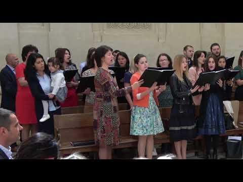 """Corul Bisericii Adventiste Grenelle Paris """"Biruinta Noastra""""  12 mai 2018"""