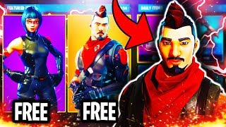 FORTNITE NEW FREE SKIN UPDATE ITEM SHOP MARCH 30TH! FORTNITE HOW TO GET NEW FREE SKINS (FREE SKINS!)