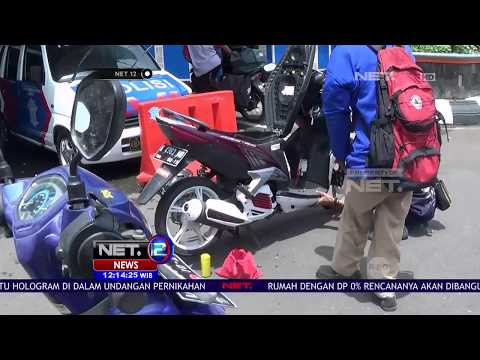 Puluhan Knalpot Bising Dihukum Ganti Knalpot Berjamaah - NET12