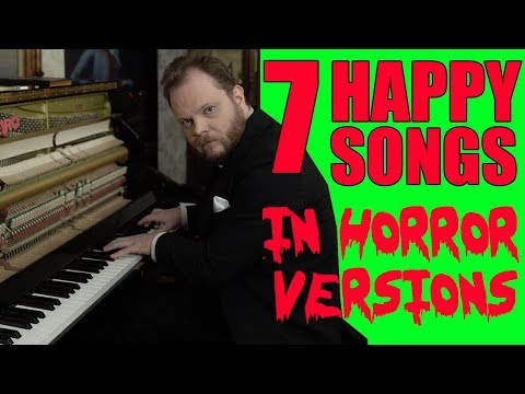 Aaron - Happy Songs Turned Into Horror Versions Because Halloween
