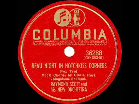 1941 Raymond Scott - Beau Night In Hotchkiss Corners (Gloria Hart, vocal) mp3