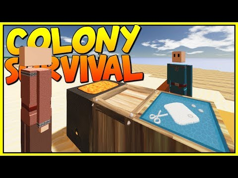 THEY ARE EVOLVING! DEFENDING AGAINST CLIMBING ZOMBIES - Let's Play Colony Survival Gameplay