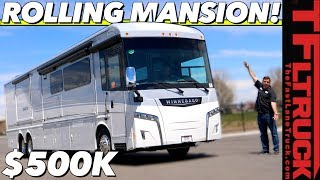 This RV Has a Freakin' Fire Place! Meet the Most Luxurious and Most Expensive Winnebago