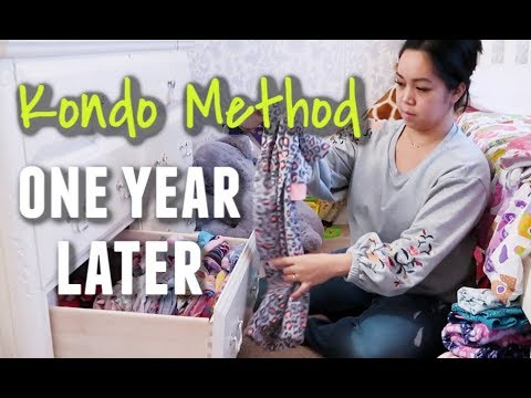 I did the Marie Kondo Method One Year Ago. This is my house today -  ItsJudysLife Vlogs