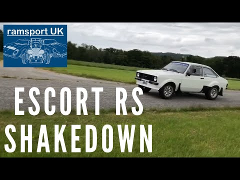 Ford Escort MK2 Group 4 Rally Car Airfield Testing And Shakedown | Ramsport