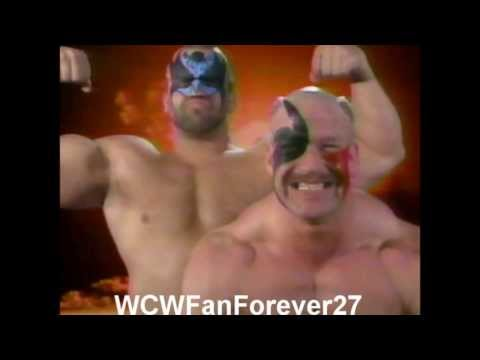WCW Road Warriors 4th Theme(With Custom Tron)