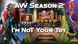 Alliance War vs LAwCR - I