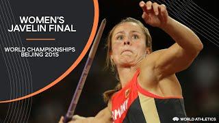 Women's Javelin Final   World Athletics Championships Beijing 2015