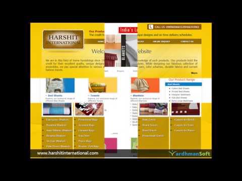 Home Furnishing Website Development Portfolio