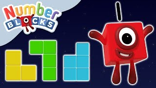 Numberblocks - Numbers & Shapes | Learn to Count