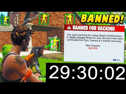 I Tested A HACKER To Get BANNED Within 30 MINUTES.. (Fortnite Battle Royale)