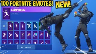 "*NEW* FORTNITE ""ROAD TRIP"" ENFORCER SKIN WITH 100 FORTNITE EMOTES!!"