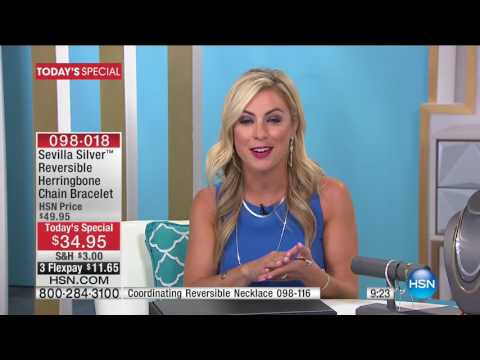 HSN | Sevilla Silver with Technibond Jewelry 06.12.2017 - 01 AM