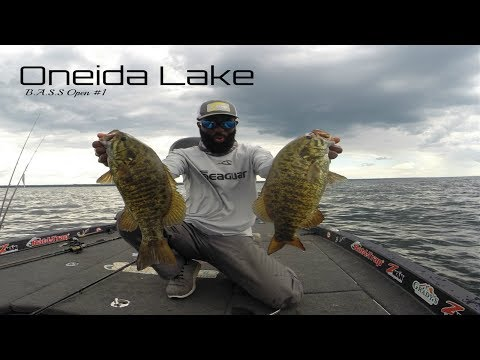 B.A.S.S Open Practice Oneida Lake ( The Reel Latimers)