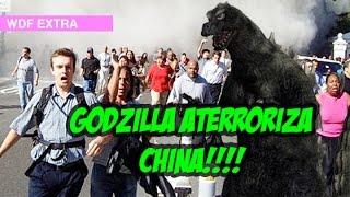 Godzilla aparece en China!!!!! #5añosdeWDF