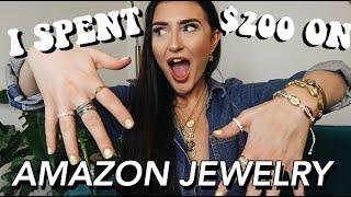 I Spent $200 on Amazon Prime Jewelry!!!    Sarah Belle