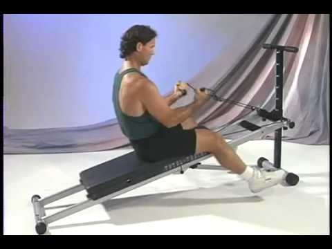 Infiniti pilates total trainer home gym tt p youtube