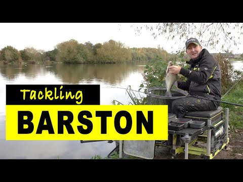 How To Fish BARSTON LAKES On The Feeder - The Approaches