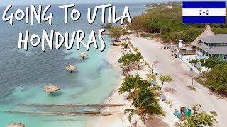 Going To Utila Honduras // Exploring The Island