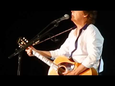 Paul McCartney Concert National Park Washington DC 7-12-2013