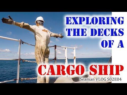Exploring the Decks of a Cargo Ship | Seaman Vlog