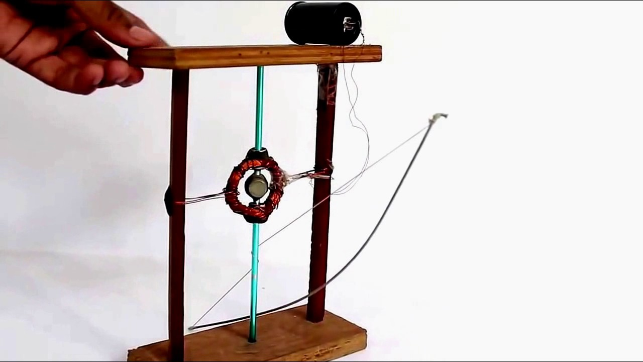 Simple Electricity Generator By Spinning Magnet Latest