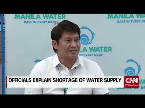 Official explain shortage of water supply
