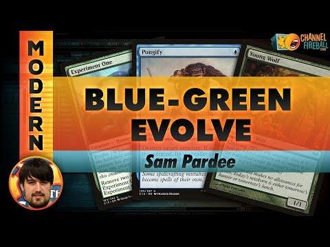 Channel Pardee Time - Modern Blue-Green Evolve