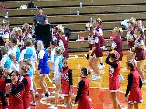 Kalida High School Cheerleaders