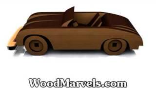 Build Your Own Wooden 1956 Porsche Speedster (hd)!