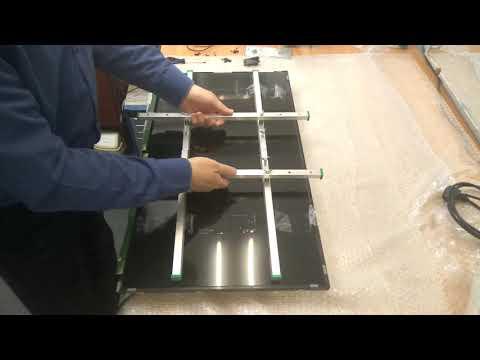 разборка тв 32 дюйма для ремонта подсветки.