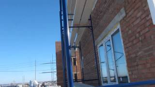 115-09 - Штукатурка фасада по системе церезит(Поэтапный видеоотчет хода строительства объекта №115. Проект