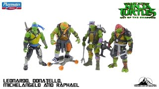 "Teenage Mutant Ninja Turtles Out of the Shadows ""Turtles"" Video Review"