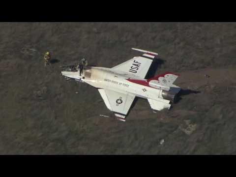 U.S. Air Force Thunderbird Badly Crashes at Dayton Air Show All Details