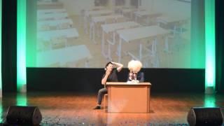 Гопник сдает экзамен по физике