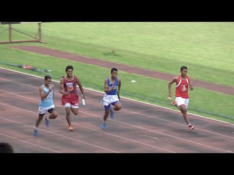 4x100m Finals Boys - Tonga Inter-Collegiate Athletics